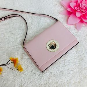 🌸OFFERS?🌸Kate Spade Leather Blush Pink Crossbody